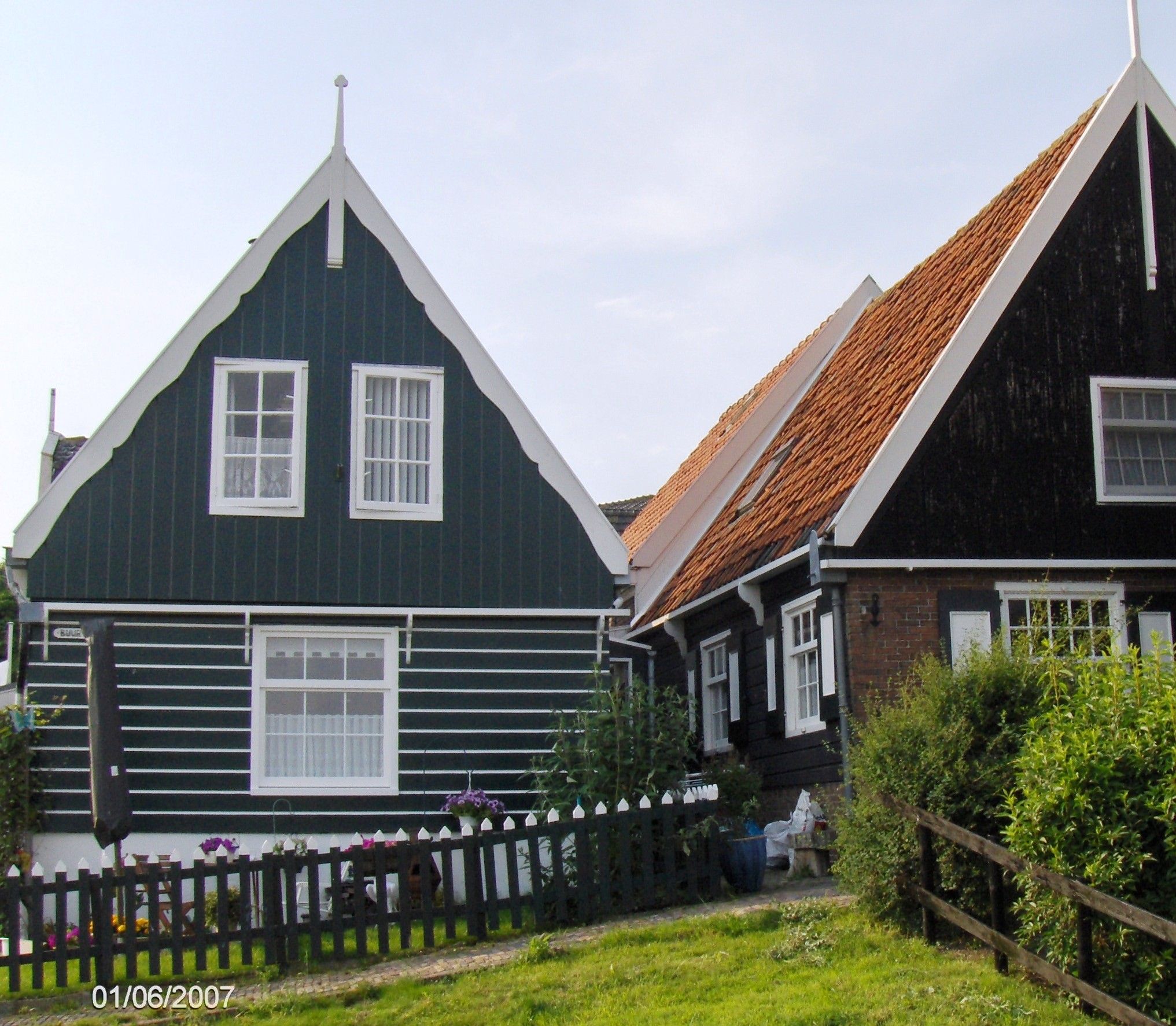 Homes in Mraken, Holland