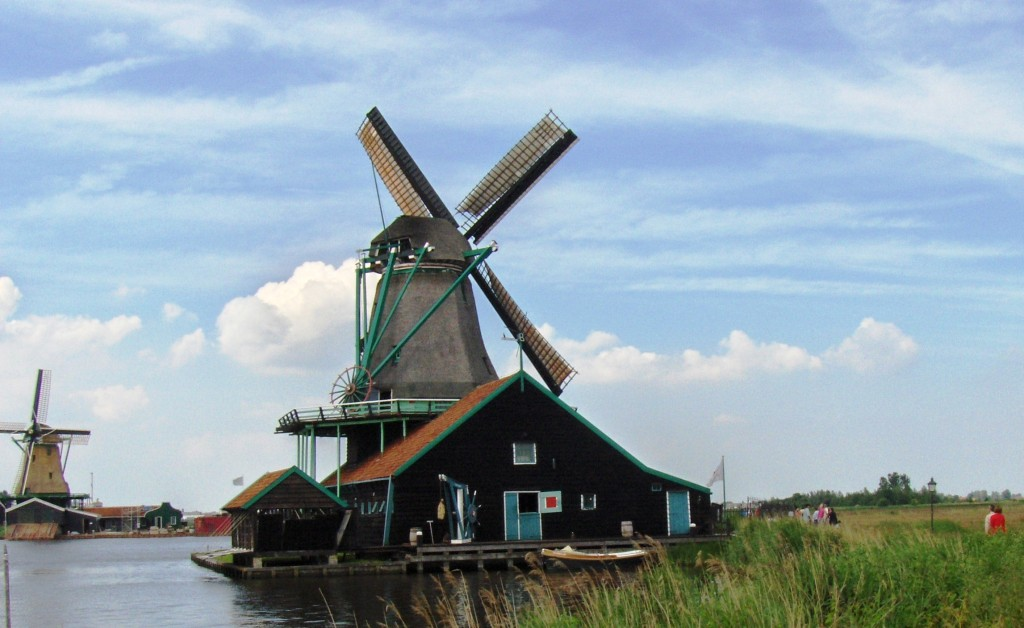 up close windmill