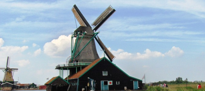Amsterdam Part 2: Dutch Windmills, Clogs and Cheese