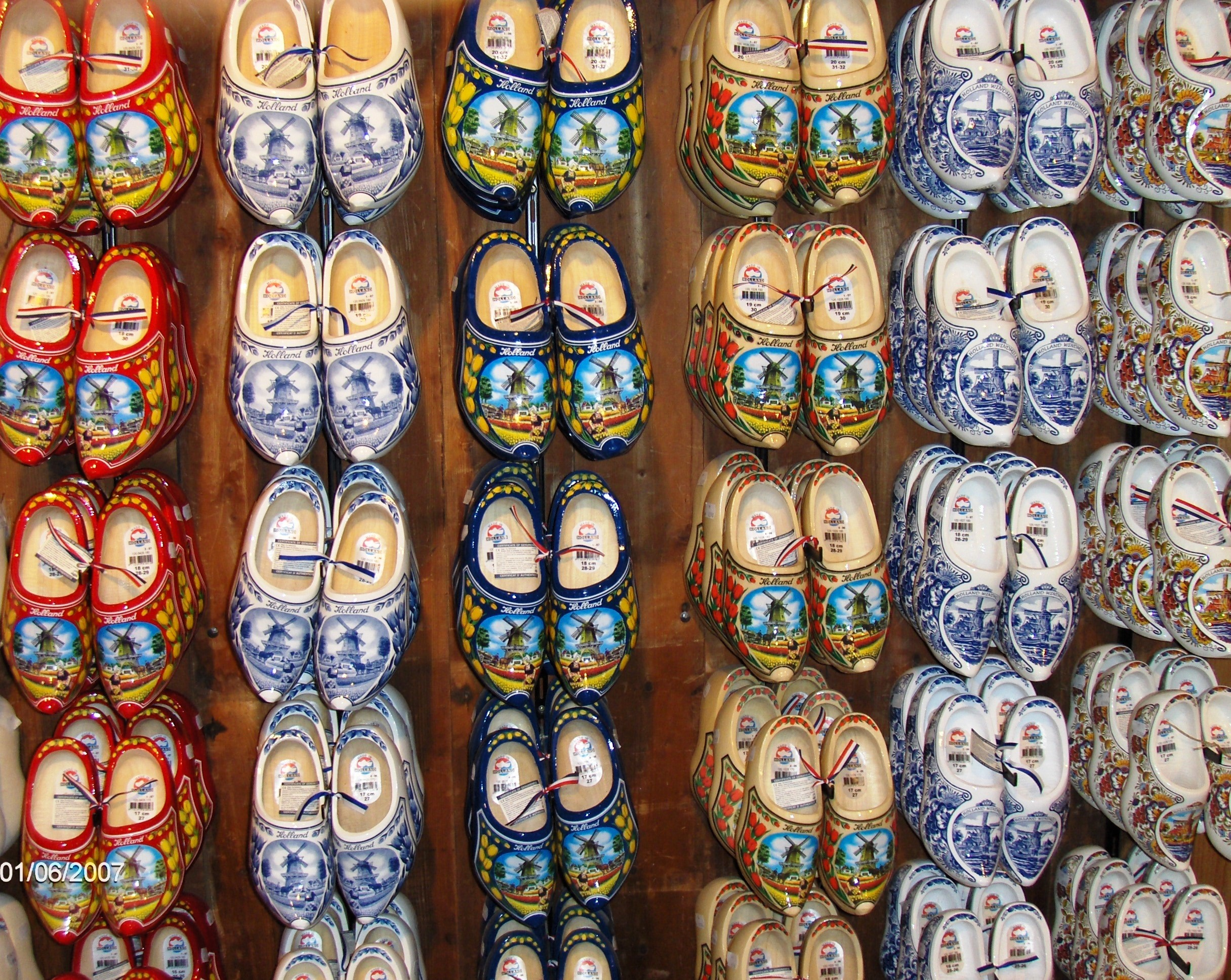 Clogs in every size and color