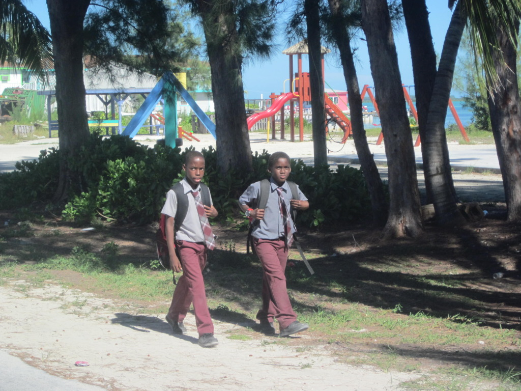 School boys in uniform