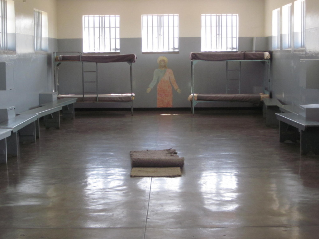 Communal cell that housed up to 60 inmates.