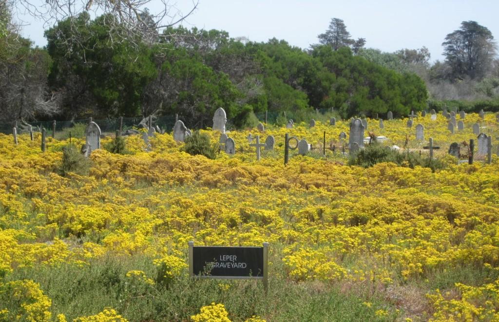 Leper Graveyard. Robben Island