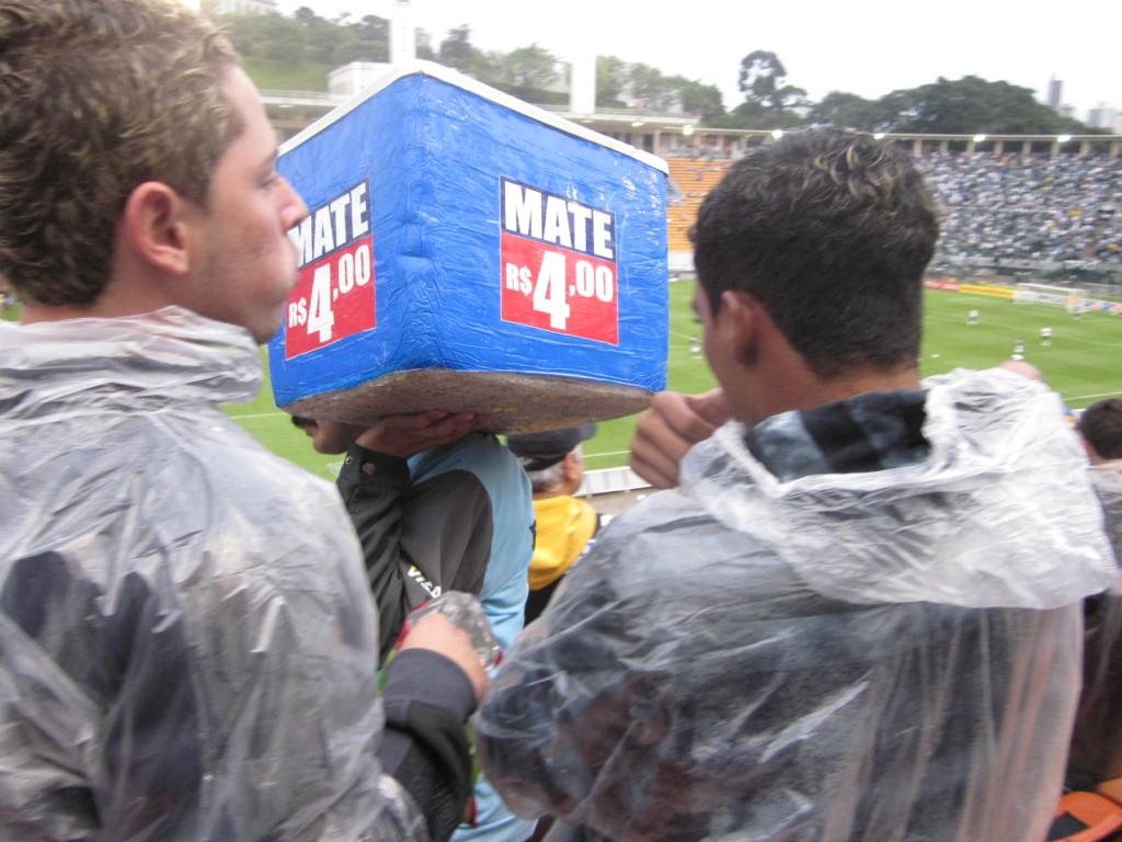 Fans are fans; rain or shine