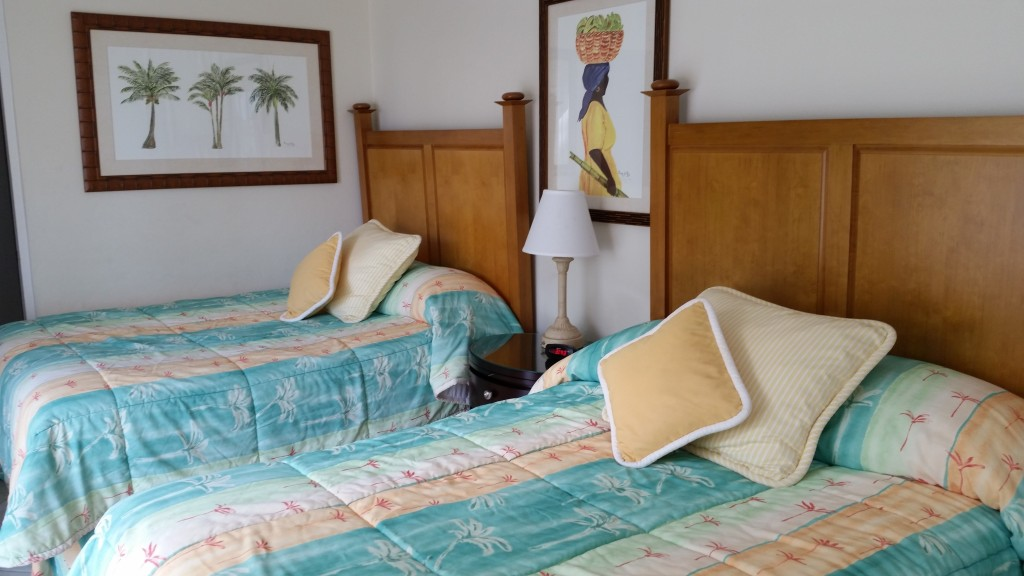 Room in the two-bedroom villa