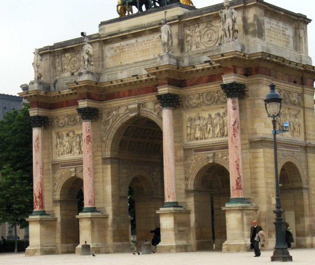 One of Paris' many elegant buildings