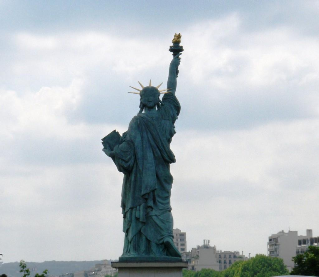 Lady Liberty in Paris