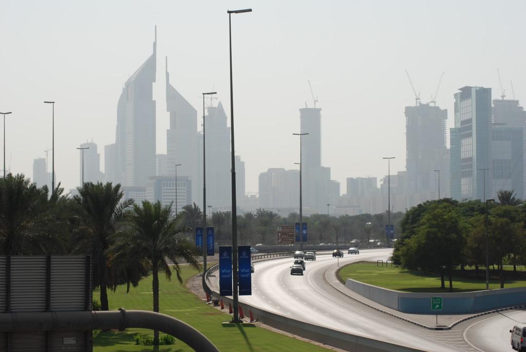 Impressive Dubai skyline