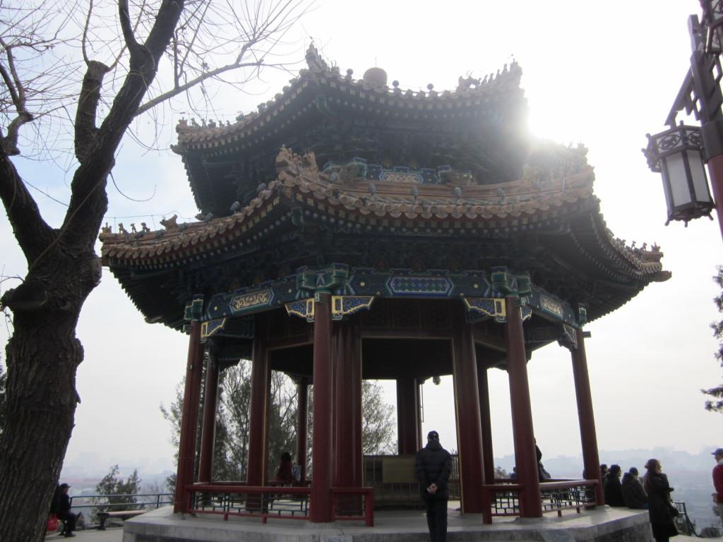 Pavilion in Jingshan Park, Beijing