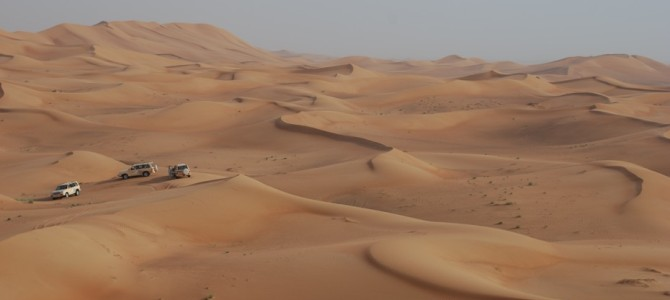 Dune bashing and belly dancing in Dubai