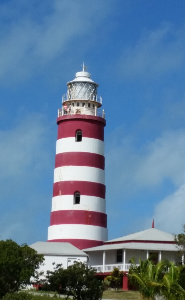 Elbow Reef lighthouse, The Abacos (Bahamas)