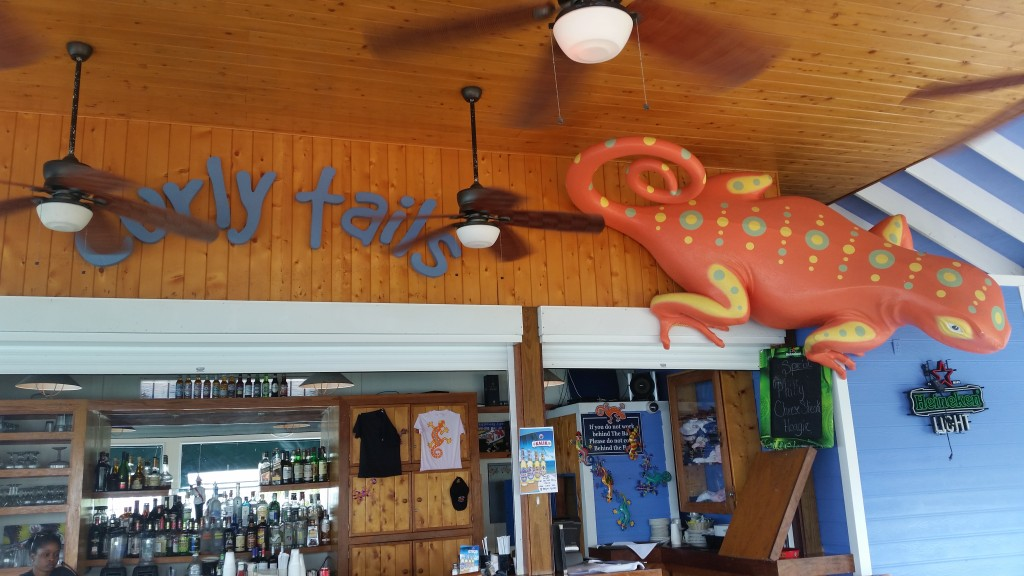 Curly Tails Beach Bar