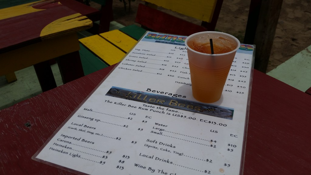 Killer Bee from Sunshine's Beach Bar