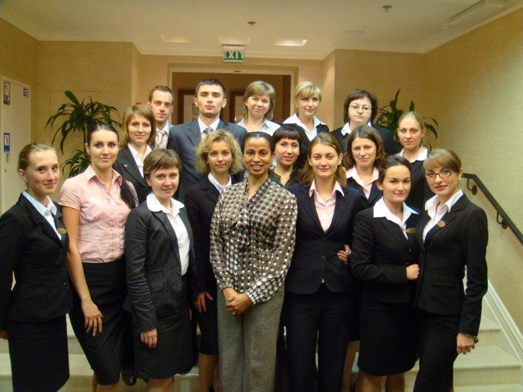 Leadership Workshop in Kiev, Ukraine