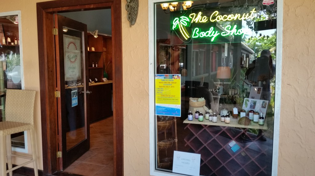The Coconut Body Shop in Turks and Caicos