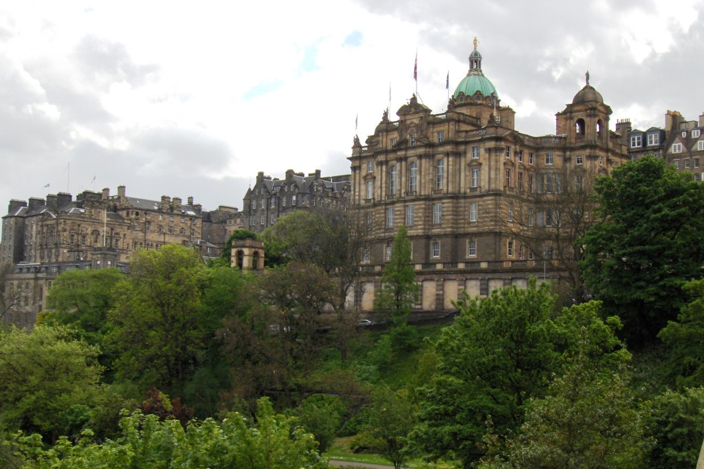 A view of the Holyrood Castle