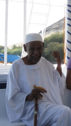Wise man from the Nubian village