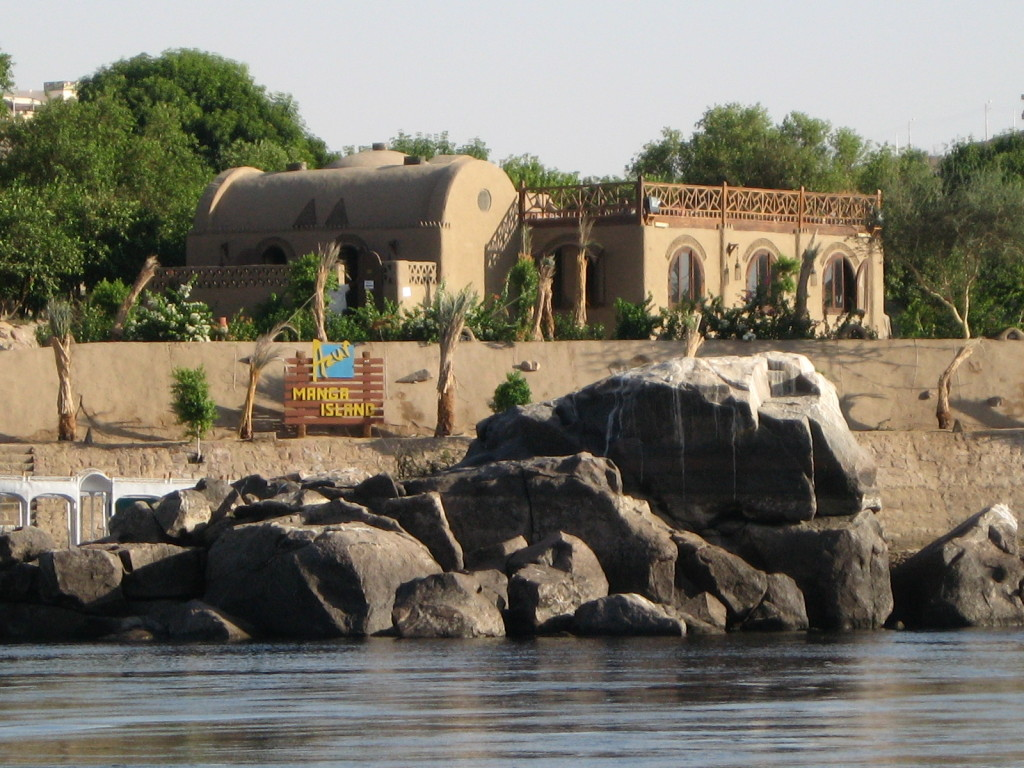 Interesting building on the bank of the NIle