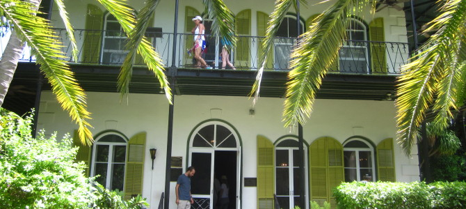 Two historic homes in Key West, Florida