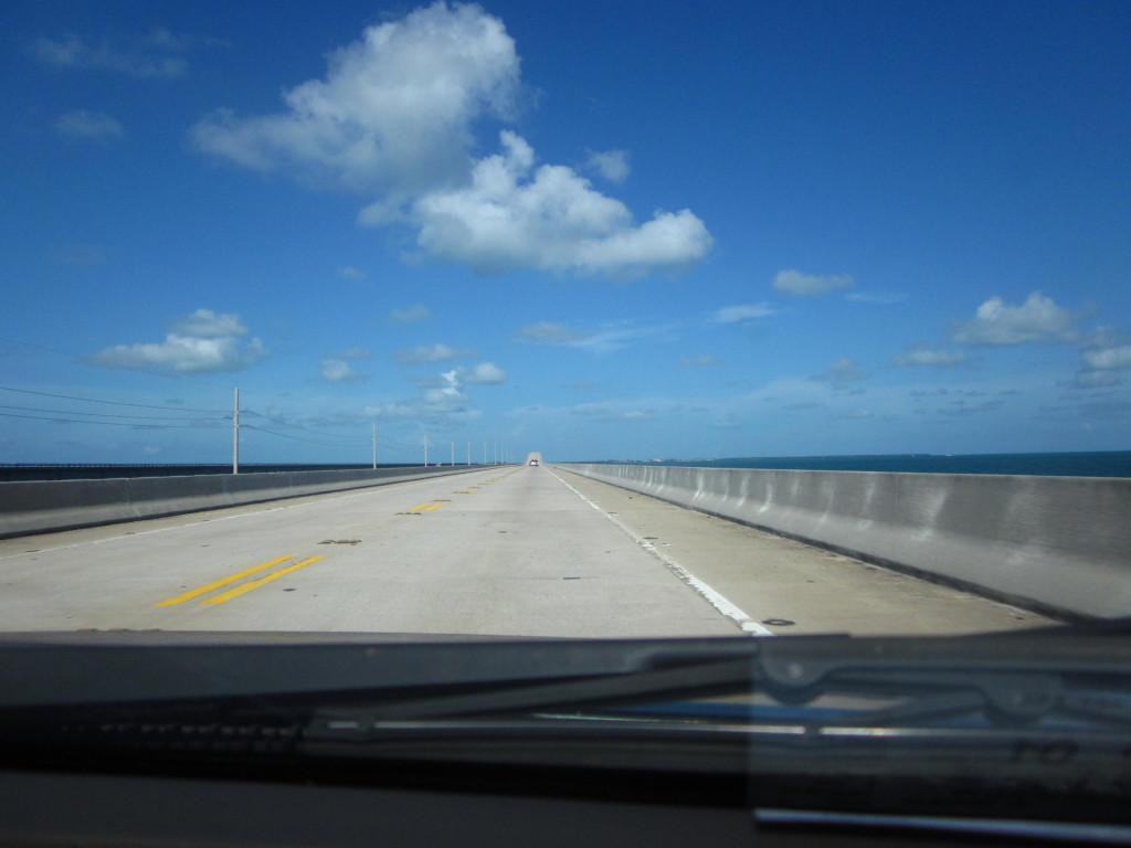 Road Trip! On the way to Key West.