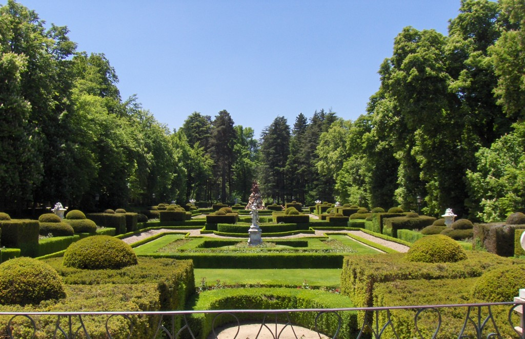 Gardens at the palace