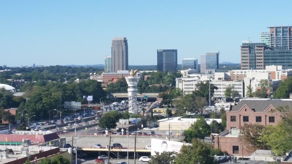 A snapshot of the Atlanta skyline