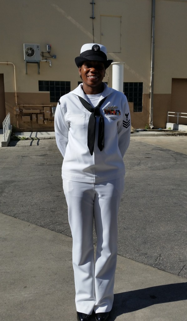 Navy officer Jayme Graham