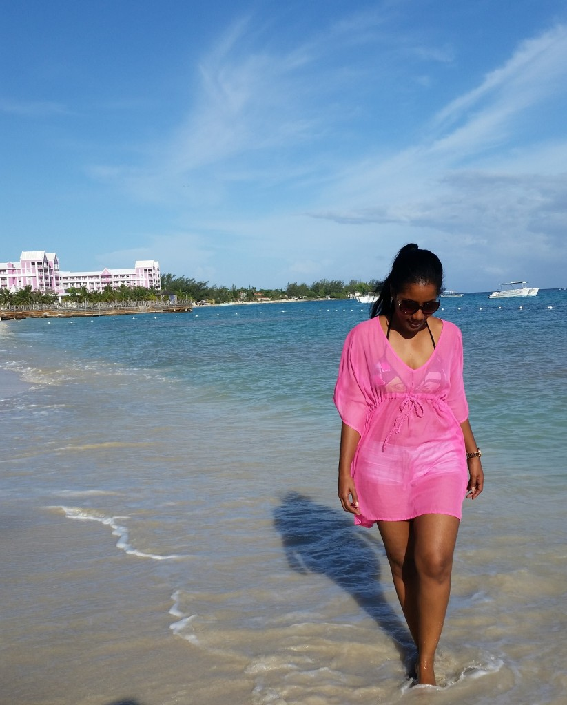 Early Morning beach stroll at Jewels Dunn's River Resort and Spa