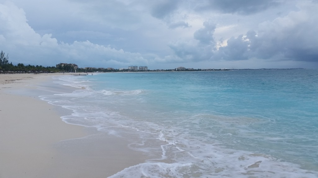 A section of Grace Bay Beach in Providenciales, Turks and Caicos