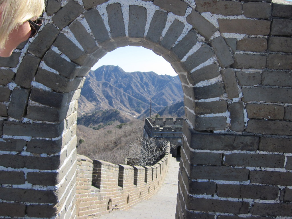 Another section where you see the wall stretching for miles