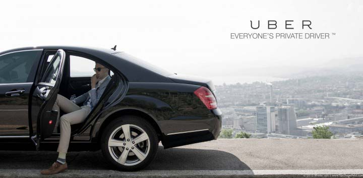 Uber sure rocks! (Image sourced from the Internet)