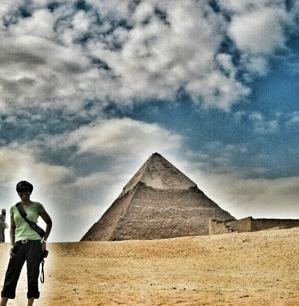 The pyramids of Giza, Ehypt