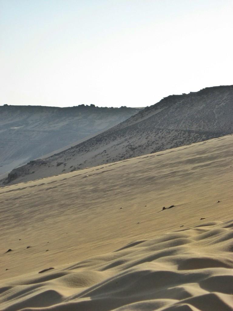 Sand dune in Egypt