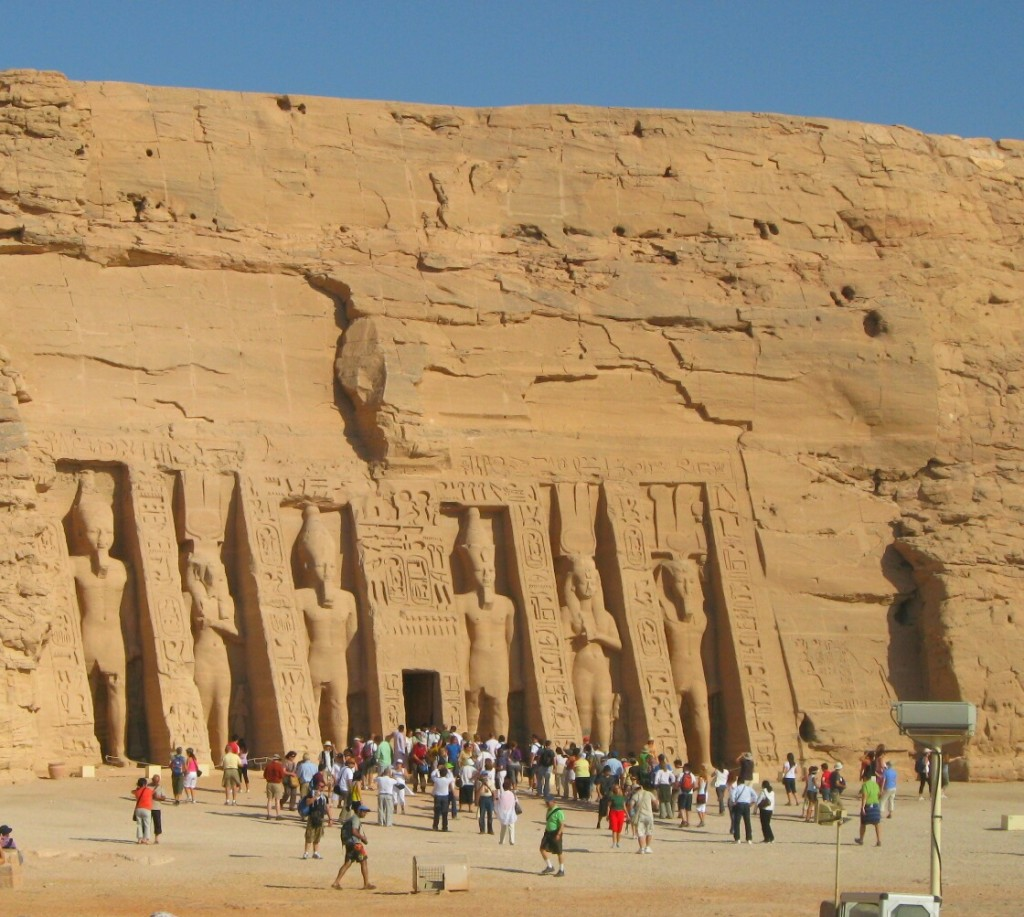 Abu Simbel, the great temples of Ramesses II, Egypt