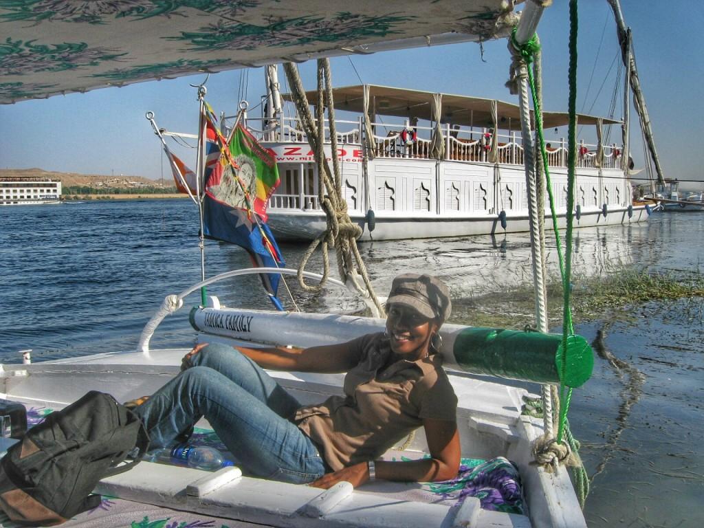 Sailing on the River Nile, Egypt