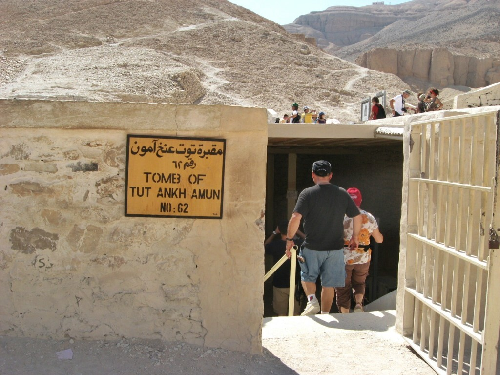 Valley of the Kings in Egypt