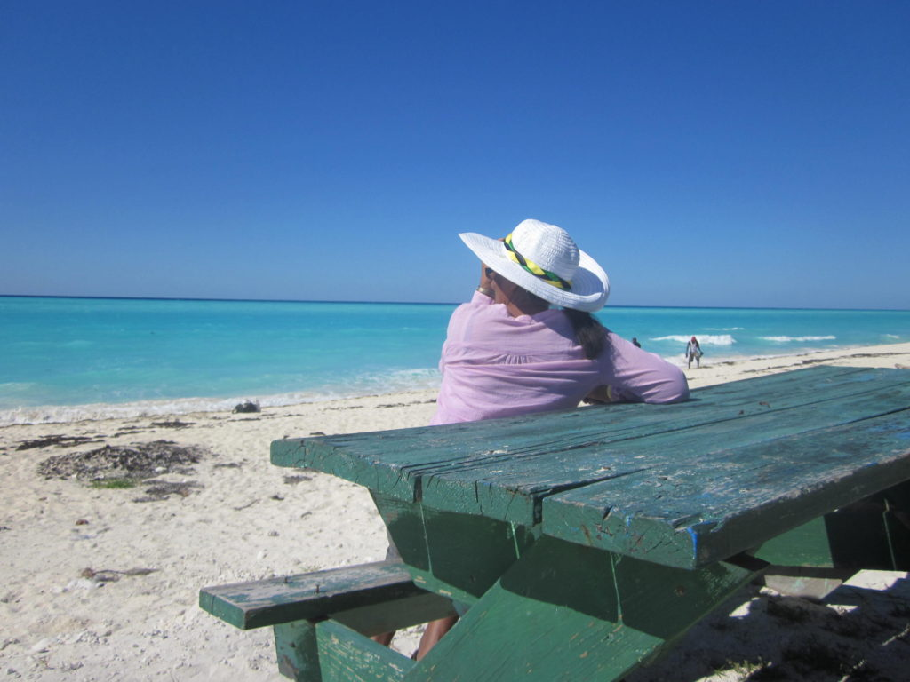 Taking a brief time out in Bimini The Bahamas