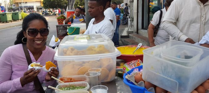 Street food is Cartagena's best kept secret