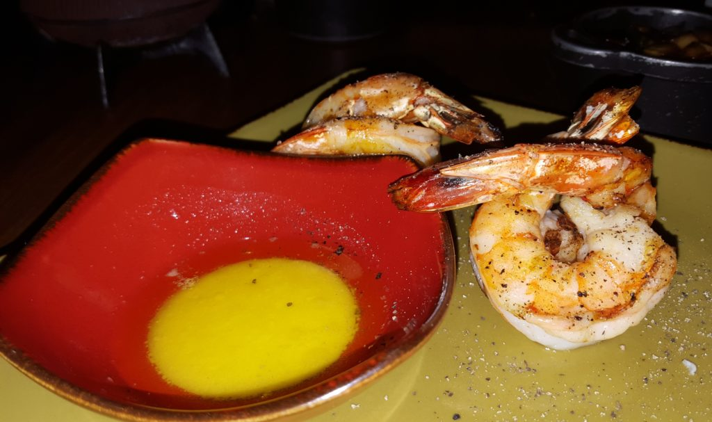 Shrimp dish at Red Kinfe Restaurant, Cartagena