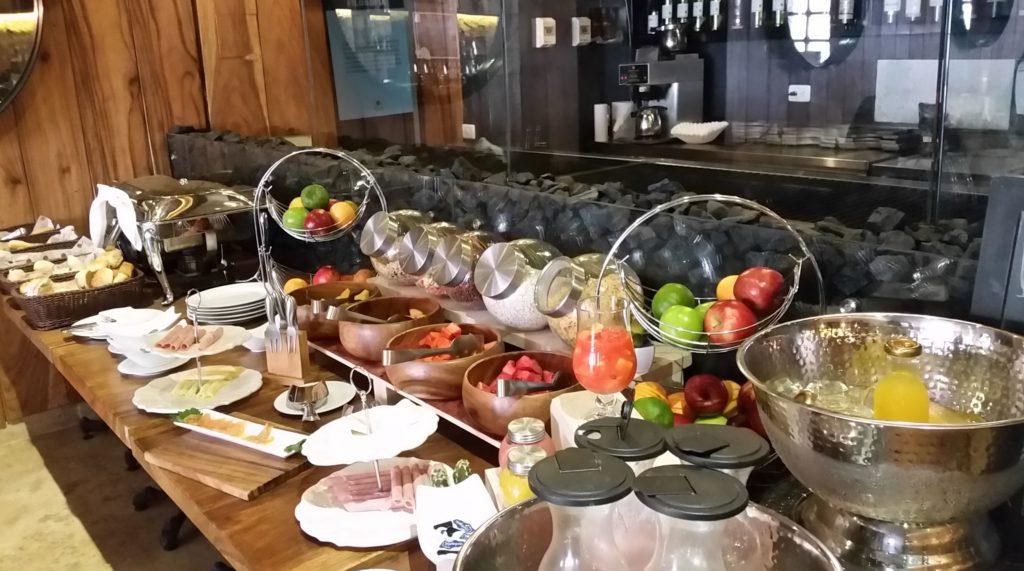 Breakfats buffet at Allure Chocolat
