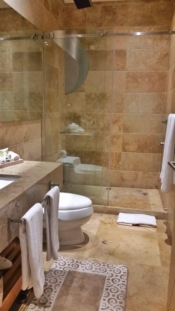 Bathroom at Allure Chocolat