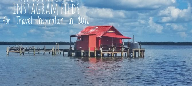 My 10 favorite Instagram feeds for travel inspiration in 2016