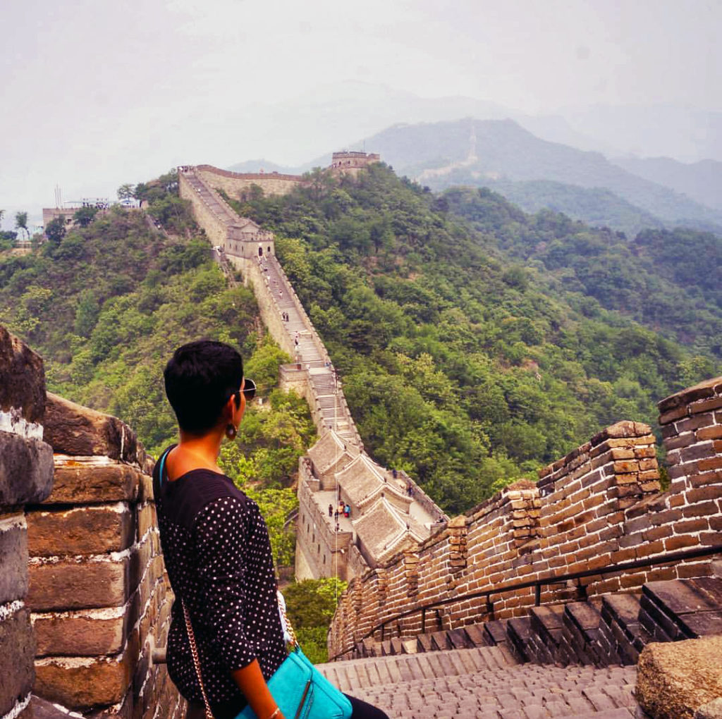 In awe of The Great Wall of China