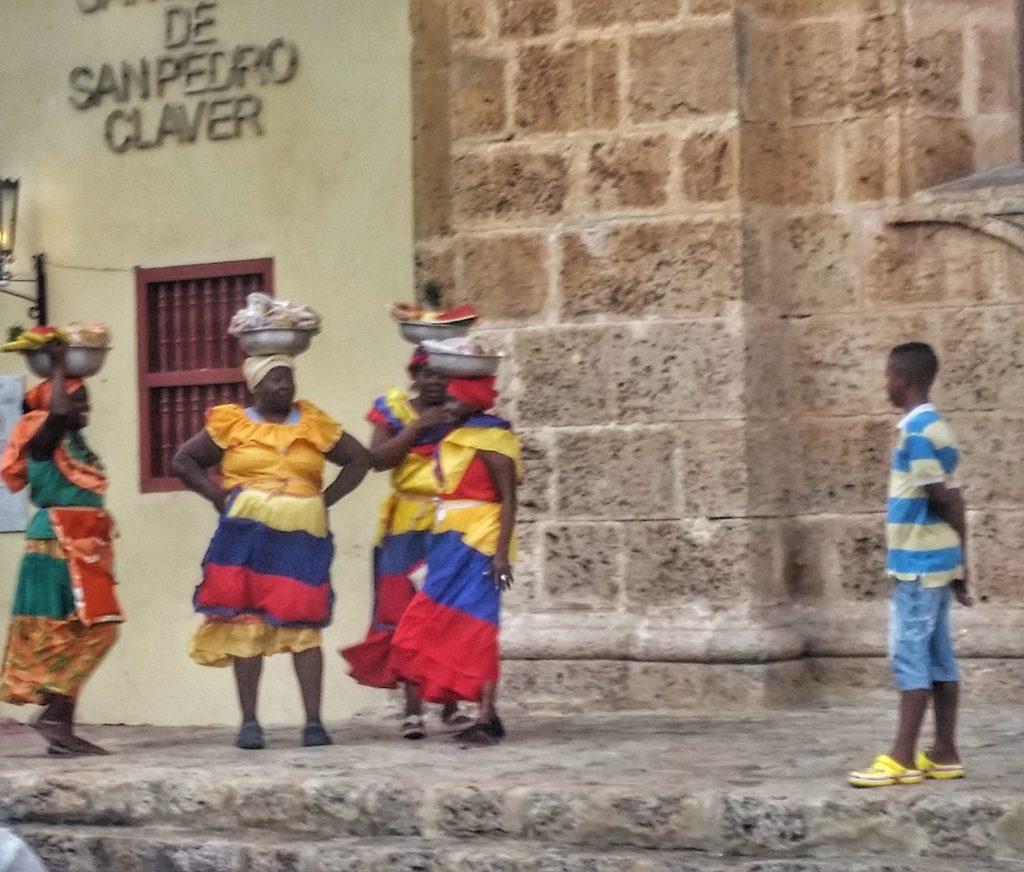 Afro-Colombian women