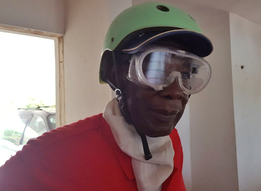 Protective eye gear for going on a dune buggy ride