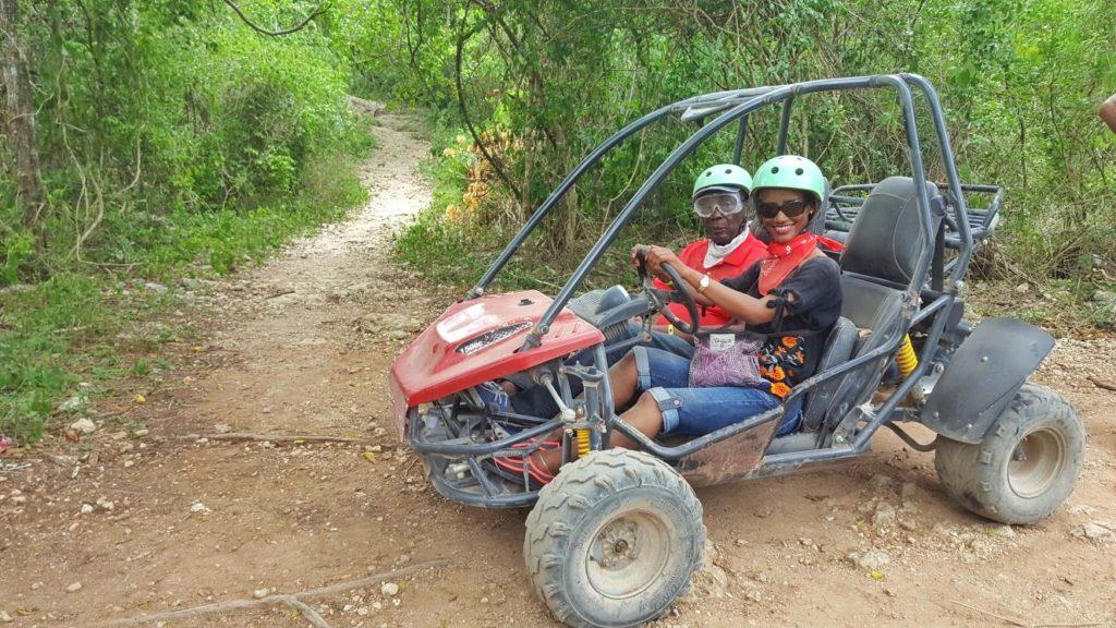 Dune buffy ride in the Dominican Republic
