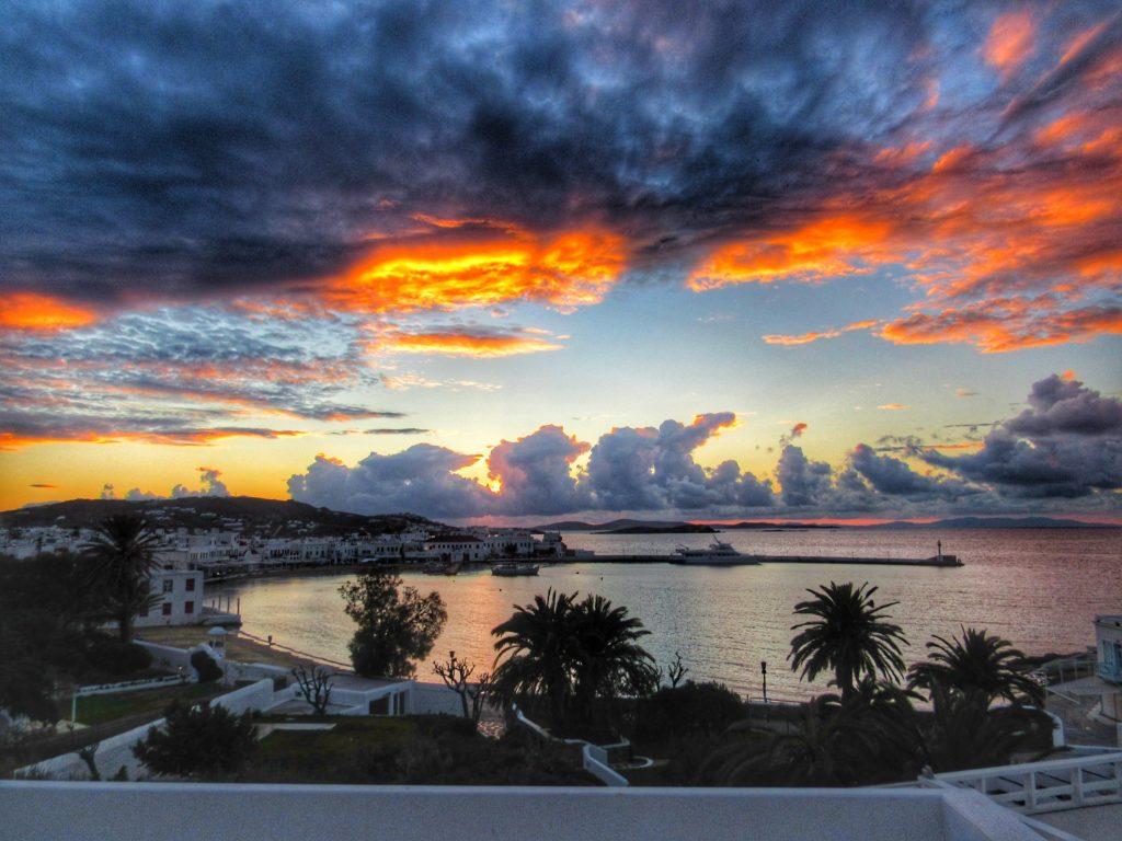 Mykonos Sunset_Greece