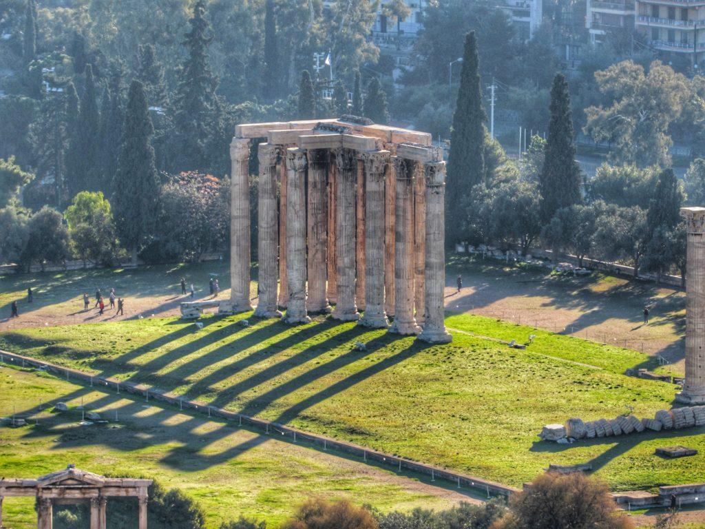 Temple of Zeus_Athens_Greece