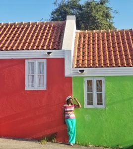 Color in Curacao