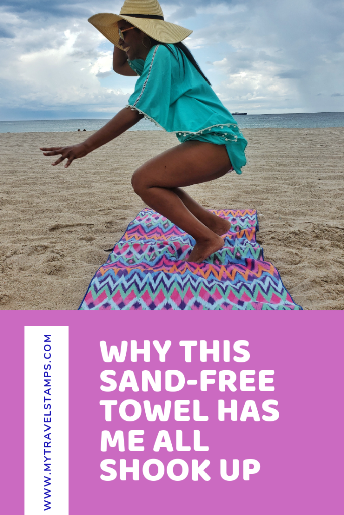 Sand free beach towel review